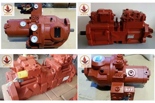 Bơm thủy lực máy xúc Hyundai, Volvo, Halla, Doosan